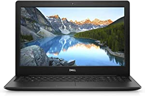 "2019 Dell Inspiron 3593 Laptop 15.6"", 10th Generation Intel Core i5-1035G1 Processor, 8GB DDR4 RAM 256GB Solid State Drive, HDMI, WiFi, Bluetooth, Windows 10, Black (Renewed)"