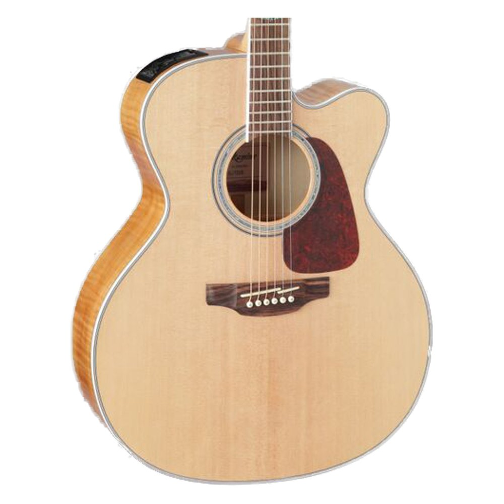 Takamine 6 String Acoustic-Electric Guitar, Right Handed, Natural (GJ72CE-NAT) by Takamine
