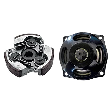 Amazon.com: ZXTDR Gear Box Drum Clutch Pad for 47cc 49cc Mini Pocket Bike ATV Quad (Clutch Pad+Gear Box Drum): Automotive