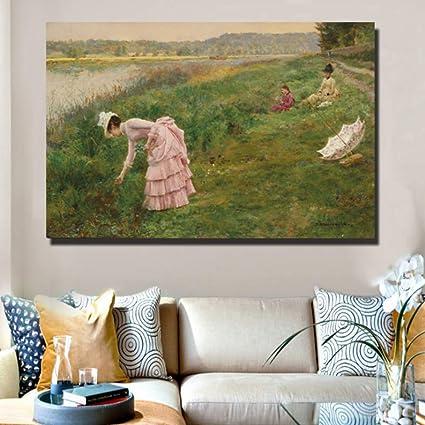 Rjjdd Pinturas De La Lona De Fama Mundial Por John Lavery ...