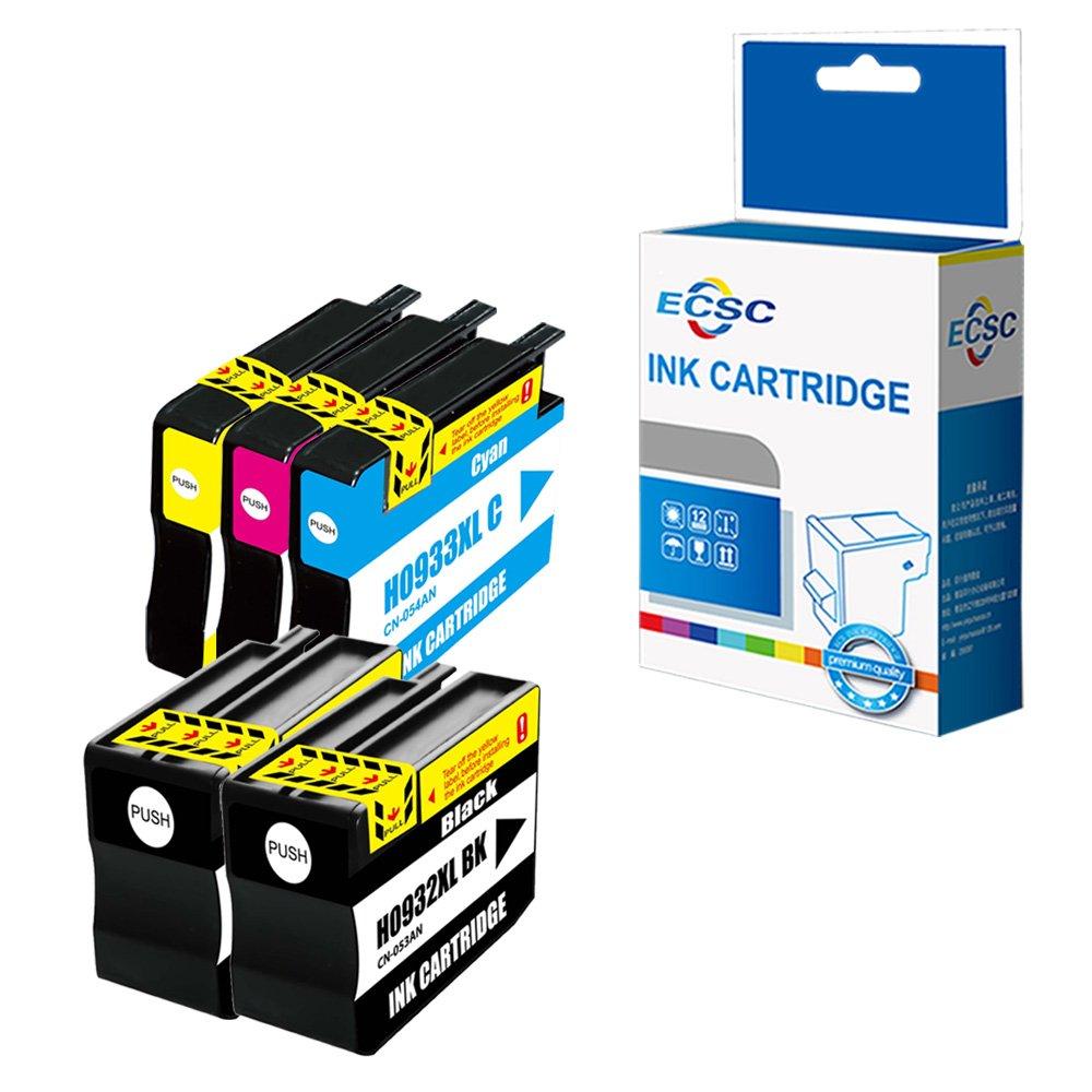 ECSC Compatible Tinta Cartucho Reemplazo Para HP Officejet 6100 ...