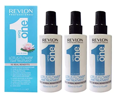 3 x Revlon Uniq One Treatment Fleur Neu 150ml