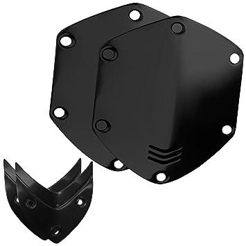 V-MODA LP LP2 M-100 Crossfade - Protectores metálicos intercambiables para auriculares de