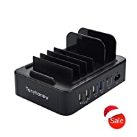 Deals on Tonyhoney Smart QC 3.0 Charging Station