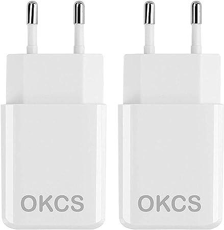 Okcs Originals Usb Netzteil 2 X 10w Usb Ladestecker Computer Zubehör