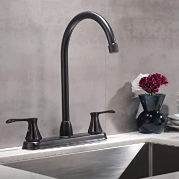 Vccucine Commercial Two Handle 360 Swivel Spout Oil Rubbed Bronze