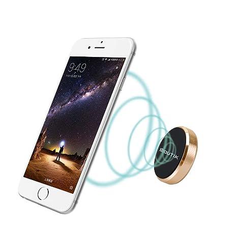 MOUTIK® Soporte Movil Coche Magnético Soporte Movil Universal Imán Portátil para iPhone 7/ 7plus