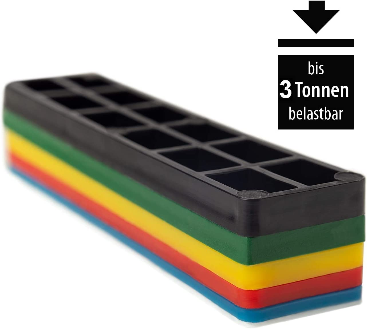 silisto pl/ástico verglasungskl/ötze 50/mm de ancho 100/x 50/x 1//2//3//4//5//6/mm//–/600/Unidades