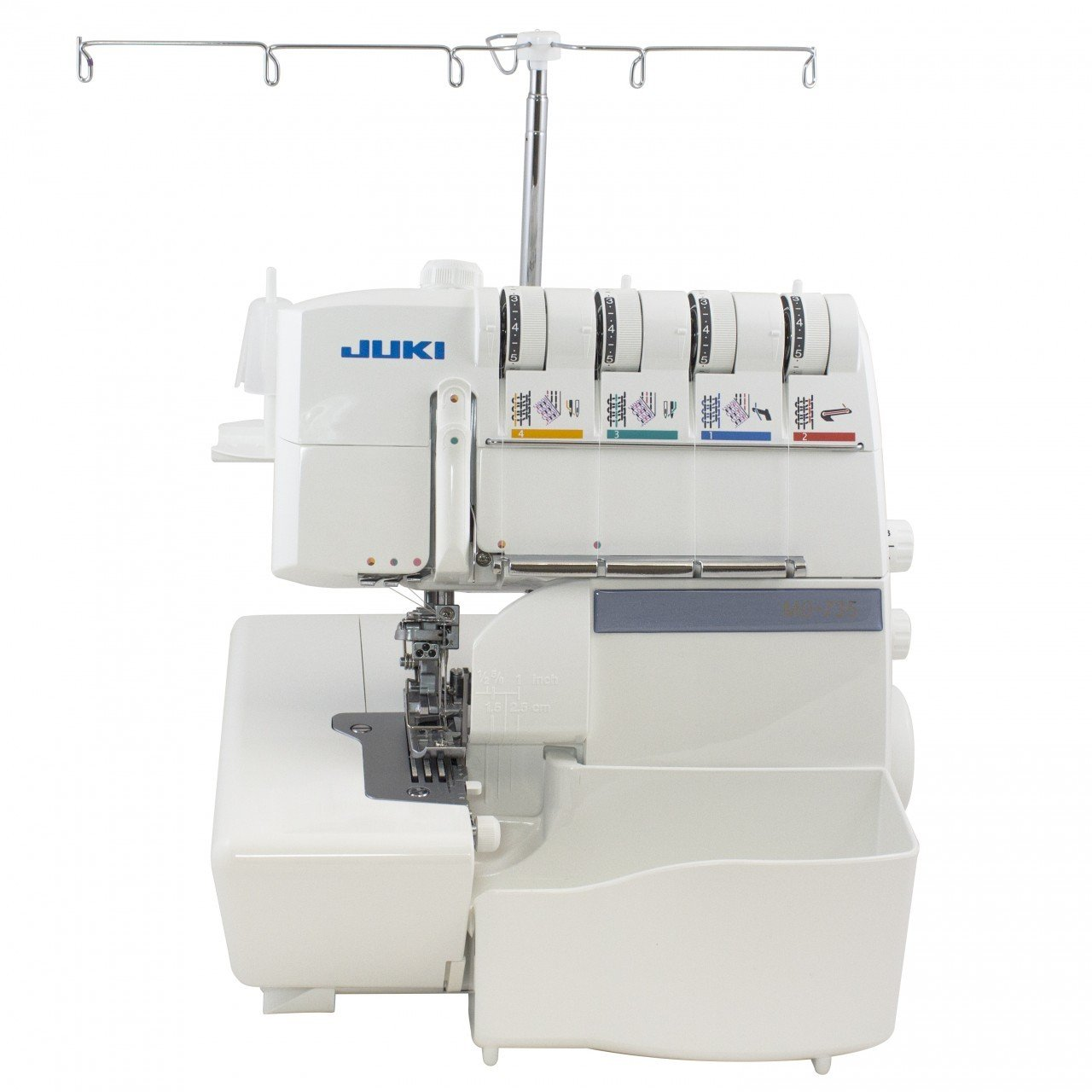 Juki MO-735 5-Thread Serger & Cover Hem Reviews 8