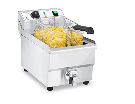 Royal Catering Freidora Electrica Profesional RCEF 10EH-1 ...