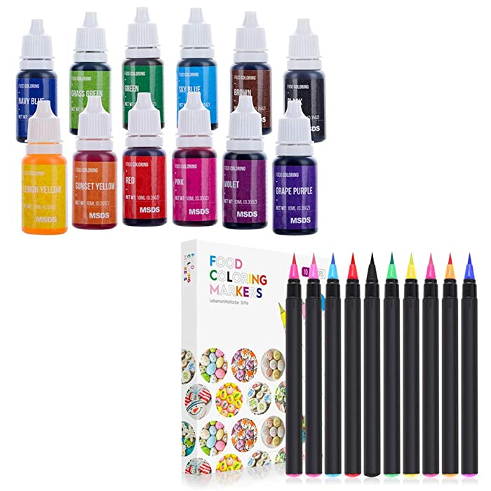 The Best Cake Craft Food Markers