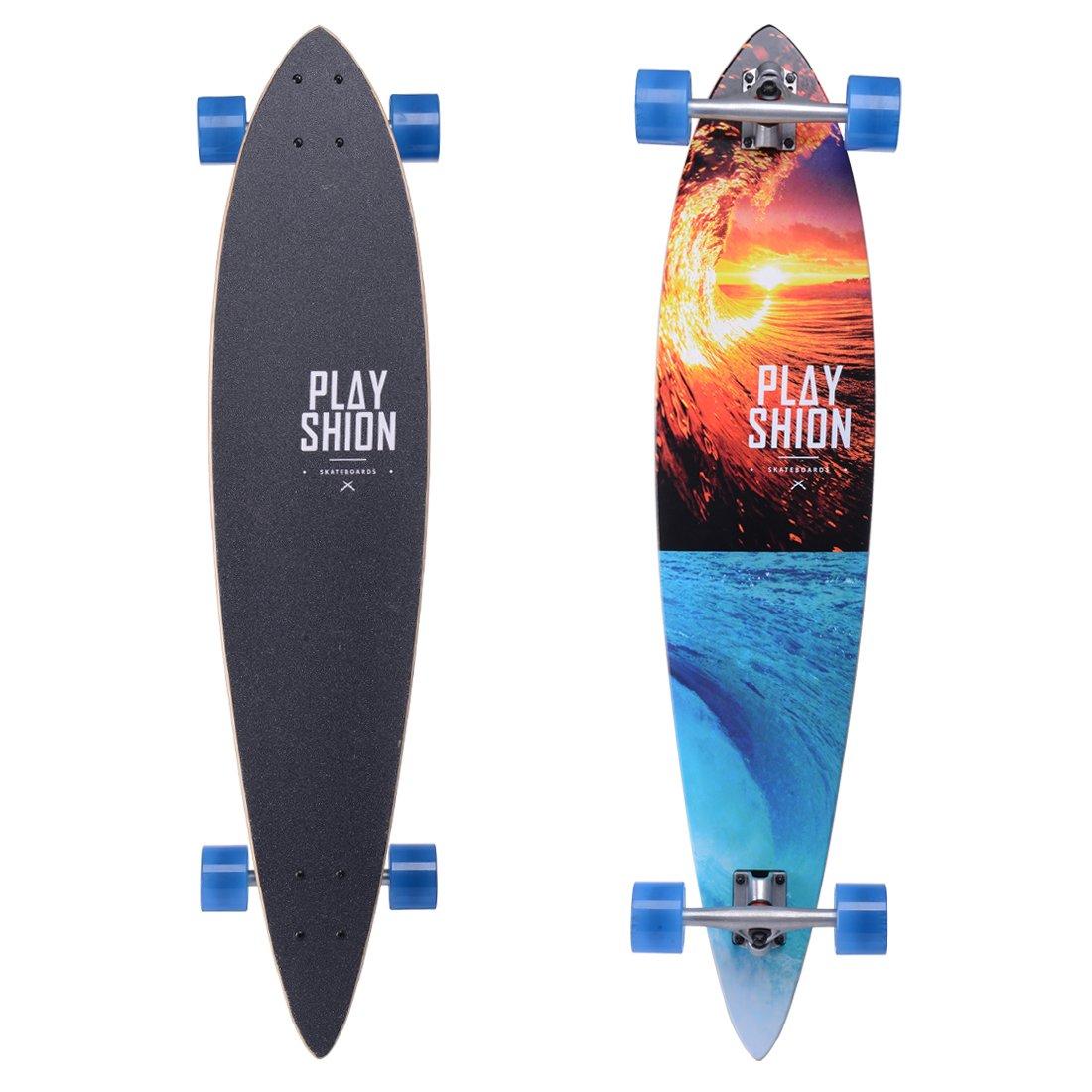 Playshion Cruising Longboard Skateboard Complete