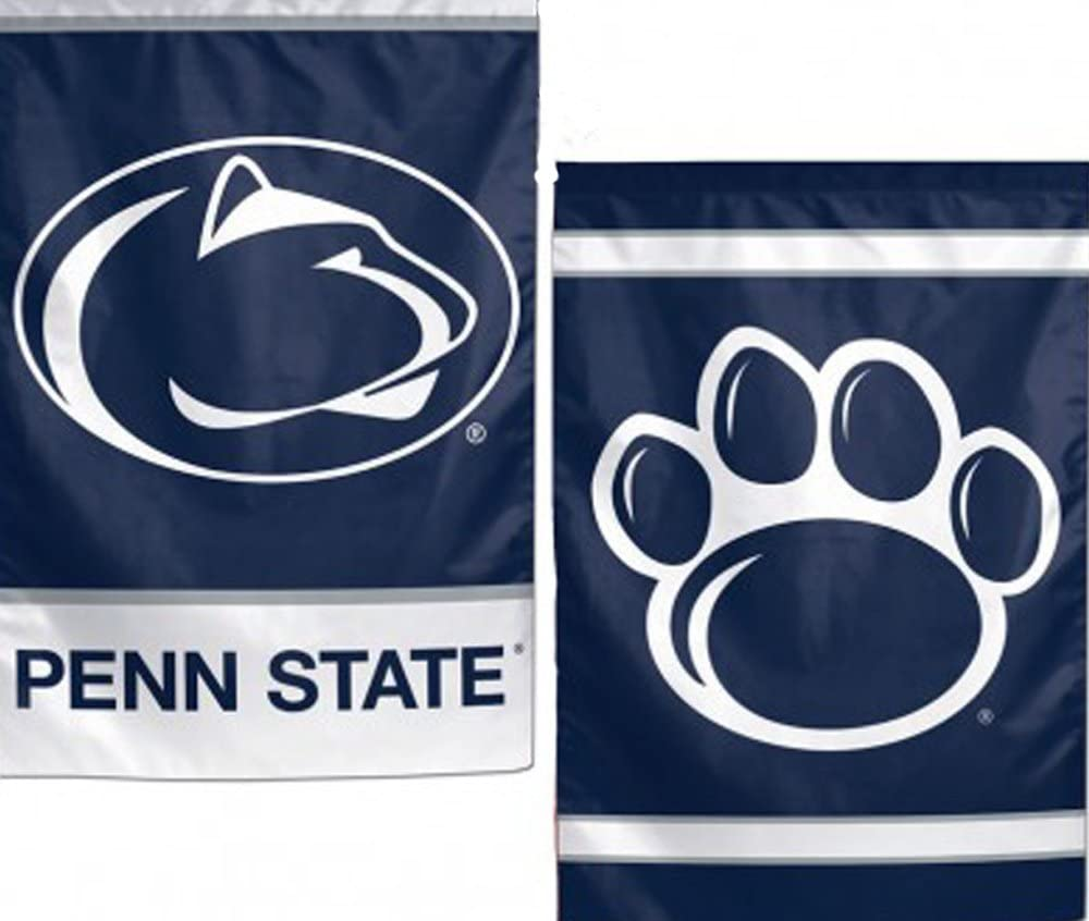 Penn State Nittany Lions NCAA 2 Sided 12.5 x 18 Inch Garden Flag