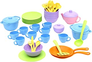 product image for Green Toys 2023403 Classroom Cafe Dining Play Set - 61 Piece