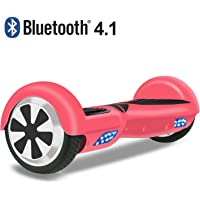 OTTO Hoverboard Two-Wheel Self-Balancing Scooter UL2272 Certificated with Bluetooth Speaker 6.5'' All-terrian Aluminum Alloy Wheels,250W Dual Motor 225lbs Max Weight