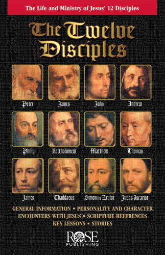 Twelve Disciples: The Life and Ministry of Jesus' 12 Disciples pamphlet -pkg of 5 pamphlets -