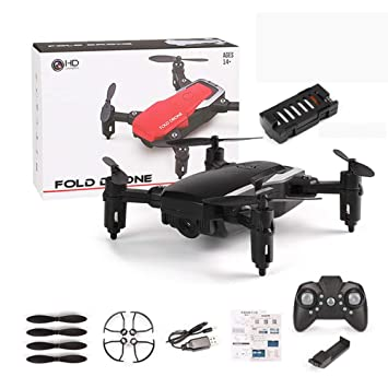 KAIFH Drone 2.0MP-720P HD Cámara Plegable HD Antena Avión No ...