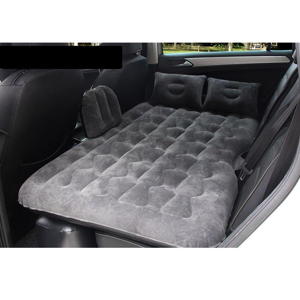 YQQ Tragbar Camping Aufblasbares Kissen Selbstfahrendes Reisebett Auto Aufblasbares Bett Im Freien Kampieren Luftmatratze (Farbe : SCHWARZ)
