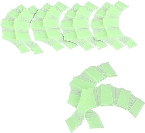 Pack de 5 pares guantes de silicona con forma de aletas para ...