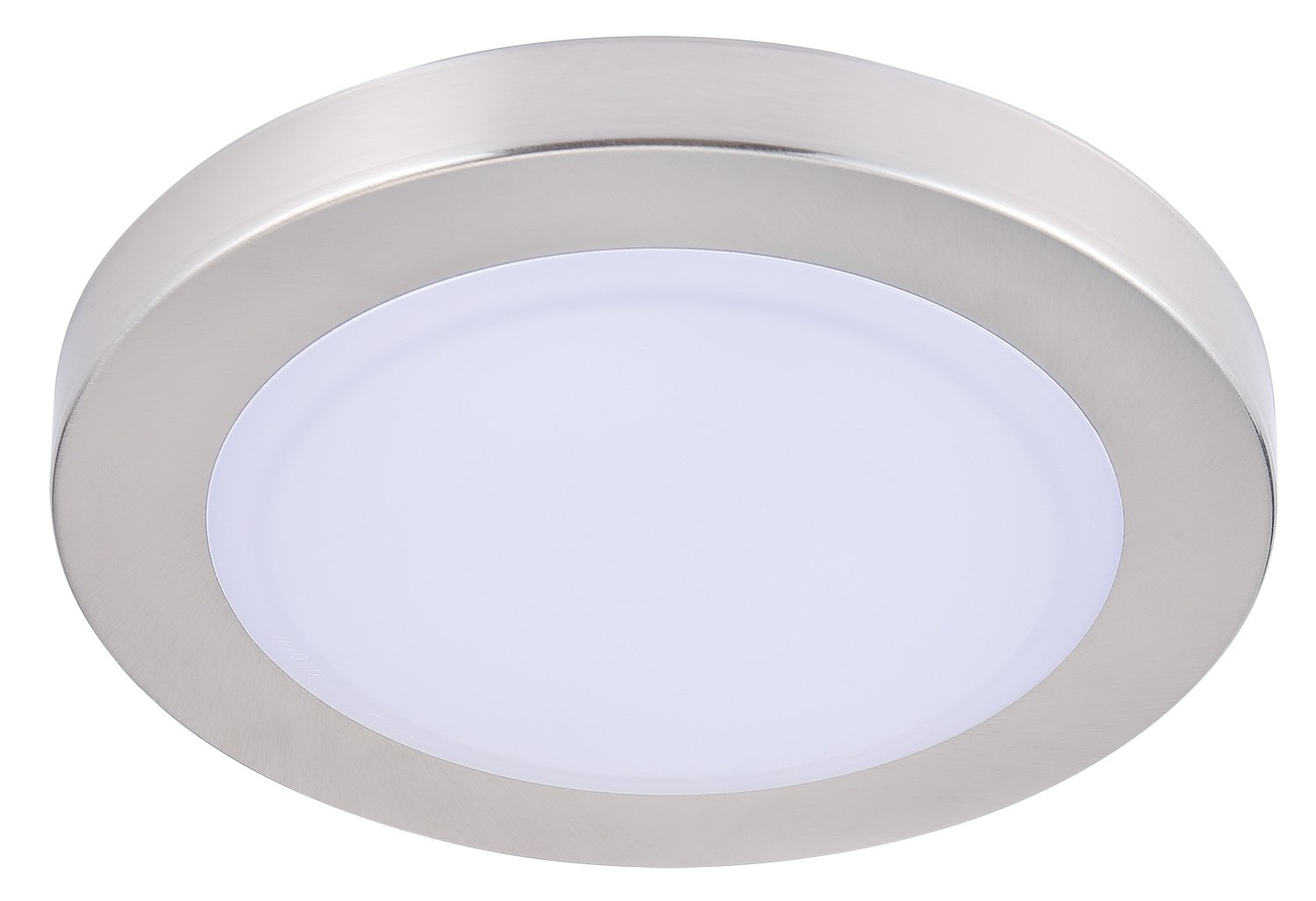 Cloudy Bay LMFFM712840BN 7.5 inch LED Mini Flush Mount Ceiling Light 4000K Cool White Dimmable 12W 840lm -100W Incandescent Fixture Equivalent,LED Flush Mount for Bathroom Hallway Entry, Wet Location