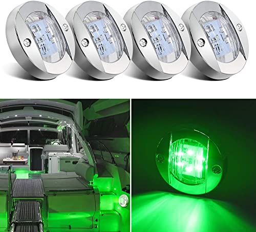 Boat 12V LED Boat Interior Light for Boat Deck (Transom Mount Light), Perfect for Night Fishing [Obcursco] Picture