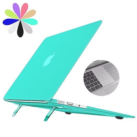 62 opinioni per MacBook Pro 13 Custodia con Piegare Supporto, Bidear [Cooling Pad Series]