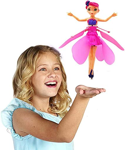 Flying Fairy Doll Induction Control Fairy Princess Drone Best Birthday Gift