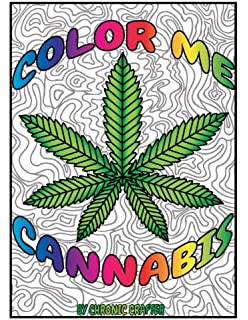 Amazon Com The Killer Weed Coloring Book For Marijuana Lovers