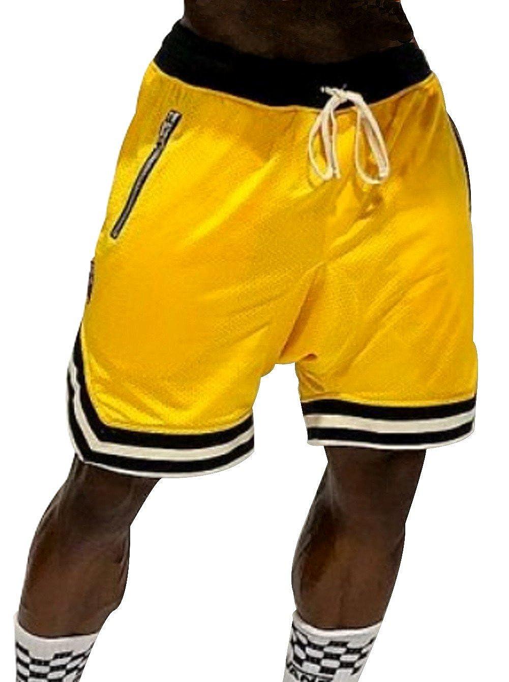 A. M. Sport Pantalon Corto Baloncesto Deportivo para Hombre ...