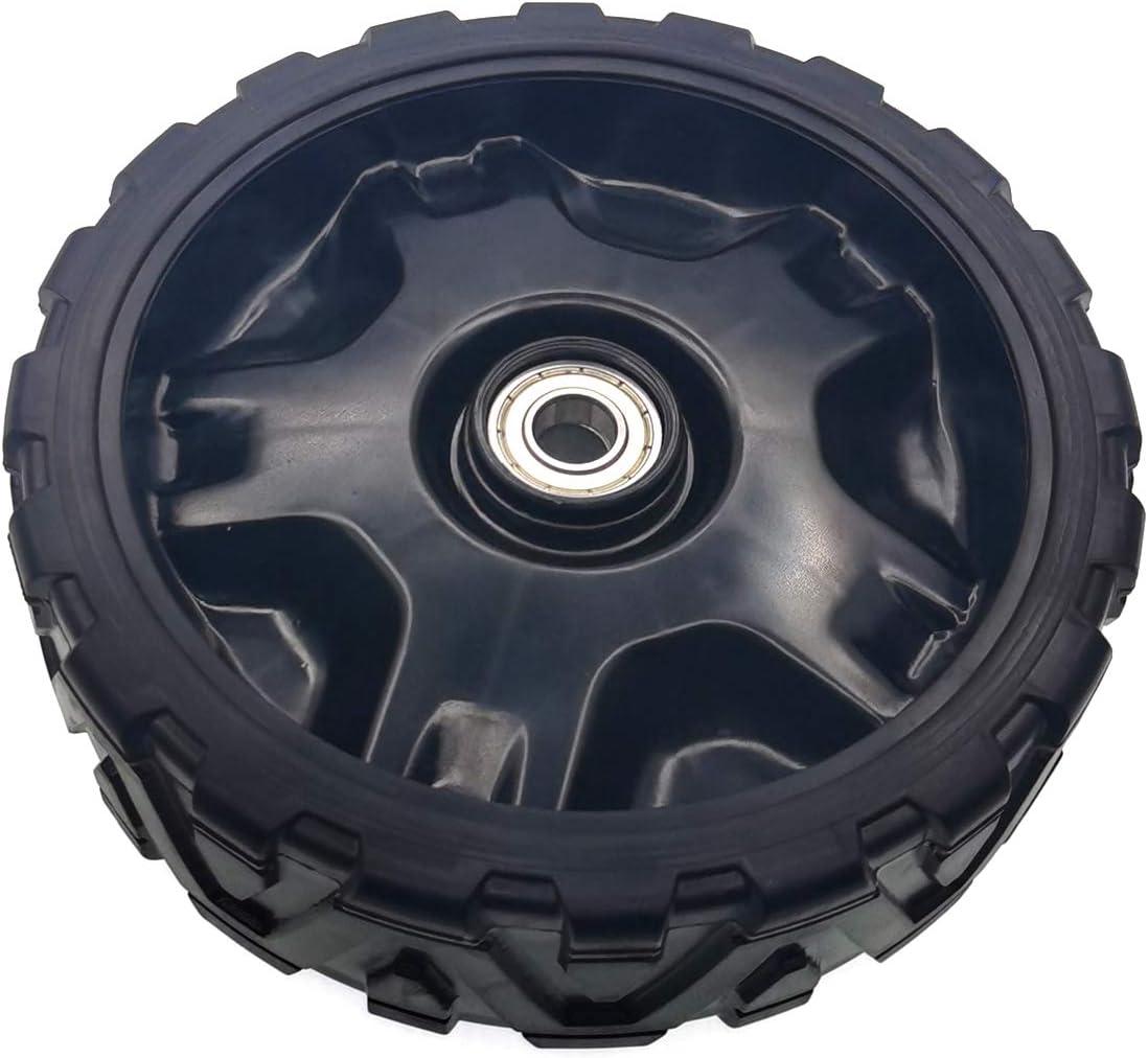 7,7 cm 634-04733 rueda de repuesto para MTD compatible con Troy-Bilt Cub-Cadet Craftsman Bolens Remington Ryobi Yardman Yard-Machine White Huskee Law