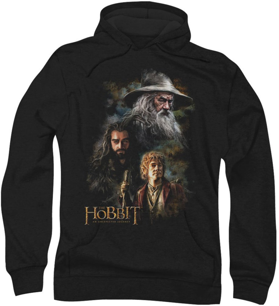 The Hobbit - Mens Painting Hoodie