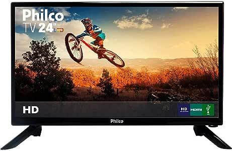 "TV LED 24"" Philco PH24N91D HD com Conversor Digital 1 HDMI"