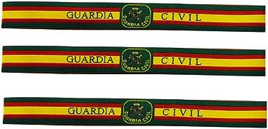 ALBERO 3 x Pulsera de tela Guardia Civil de España. Verde, rojo y ...