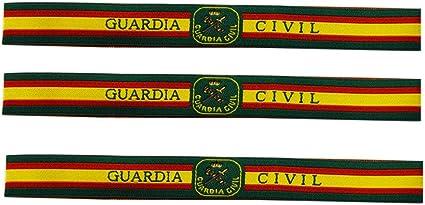 ALBERO 3 x Pulsera de tela Guardia Civil de España. Verde, rojo y gualda. 32 x 1,50cm. Fuerzas y Cuerpos de Seguridad del Estado. Nuevo Diseño: Amazon.es: Ropa y accesorios