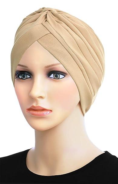 Turban Hats for Women Stylish Cotton Chemo Caps at Amazon Women s ... eede2c2d784