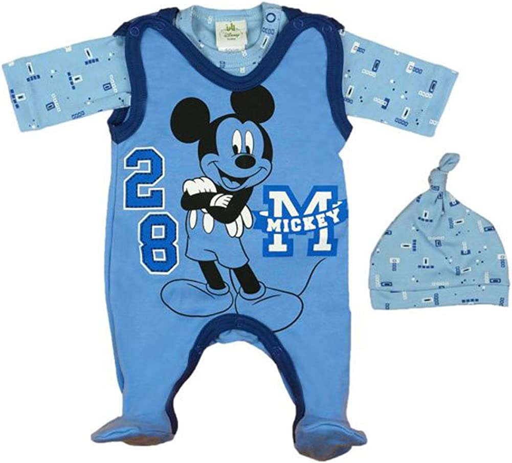 6-18 Monat Jogginganzug Baby Outfit Set Mickey Mouse Disney Hose Pullover Gr