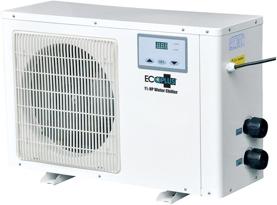 EcoPlus 728709 Chiller, 1.5 HP