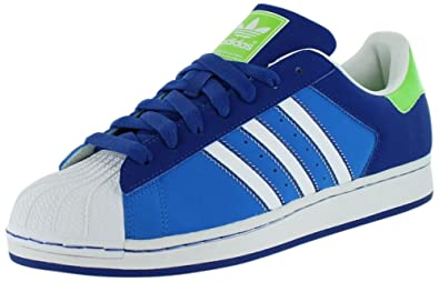 adidas Superstar 2 CB Herren Blau Turnschuhe Schuhe EU 44