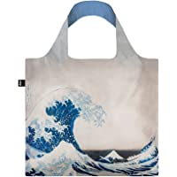 LOQI Museum Hokusai The Great Wave Bag Borsa da spiaggia, 50 cm, 20 liters, Multicolore (Multicolour)