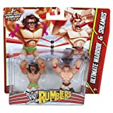 WWE Rumblers Ultimate Warrior and Sheamus Action Figure, 2-Pack
