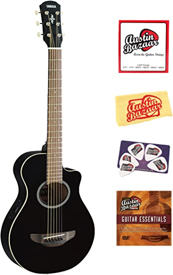 Yamaha APXT2 Guitarra eléctrica acústica, tamaño 3/4 paquete de ...