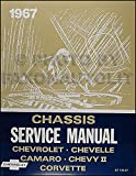 1967 Chevy Repair Shop Manual Reprint - Impala, SS, Caprice Chevelle El Camino Camaro Chevy II Nova Corvette