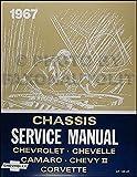 1967 Chevy Repair Shop Manual Reprint - Impala, SS, Caprice Chevelle El Camino Camaro Chevy II Nova Corvette