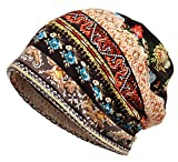 Qunson Women's Baggy Slouchy Beanie Chemo Hat Cap Infinity Scarf