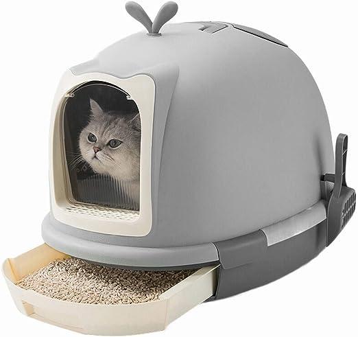 Cajas de arena Cajas de arena para gatos Los gatos con capucha ...
