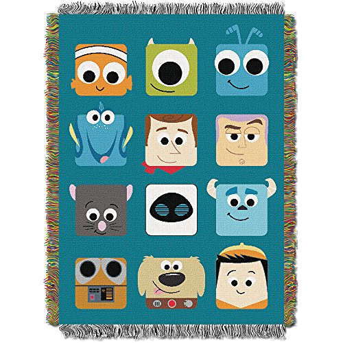 Disney Pixar Pixarland Tapestry Throw, 46 by 60