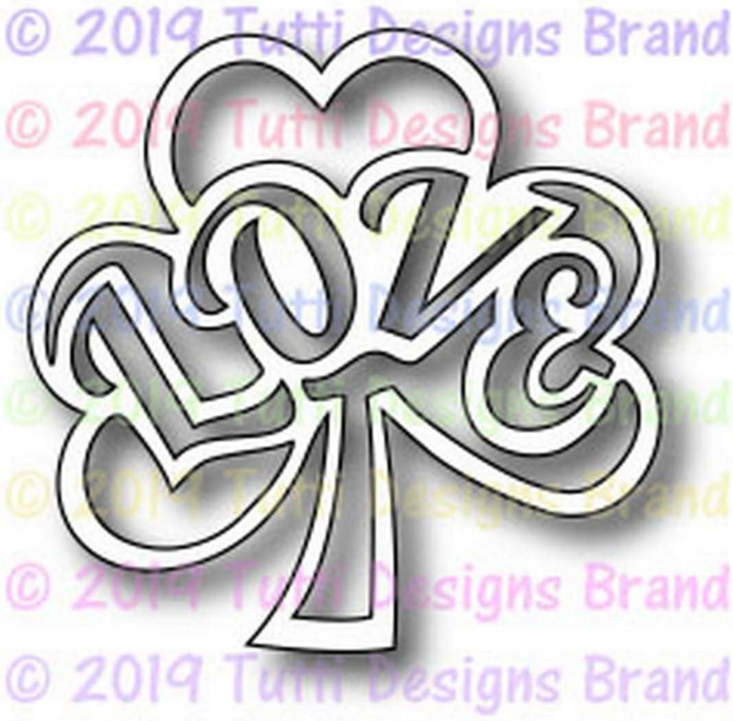 TUTTI-491 Love Shamrock Tutti Designs Cutting Dies