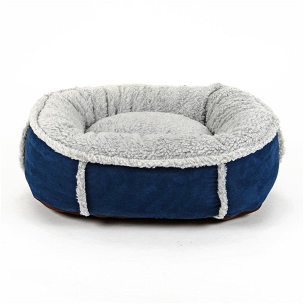 取り外し可能なフォーシーズンズ一般テディ犬小屋猫砂パッド犬のベッドペットの秋と冬は暖かい厚手してください (色 : #1, サイズ さいず : M) Medium #1 B07KV1CJV7