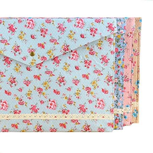 Robiear Floral Folder Document Organizer