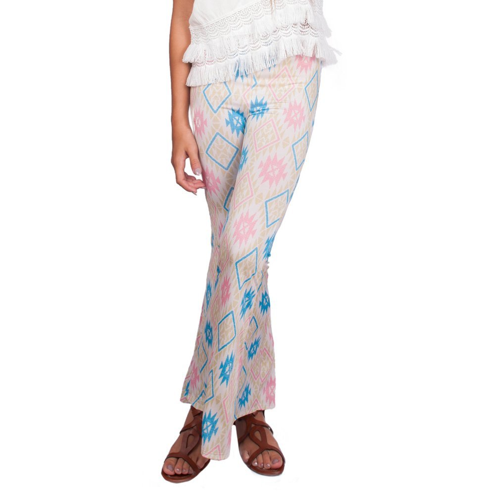 Weekend Vibes Girls Sunrise Flares in Fire Sign Pastel